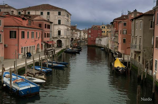 """(""""Canal Vena a Chioggia"""")"""
