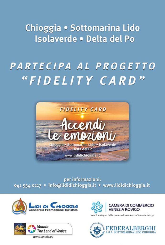 pubblicita' progetto Fidelity Card