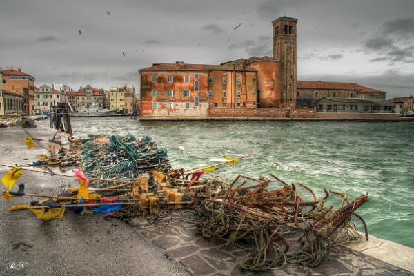 """(""""pesca e arte a Chioggia"""")"""
